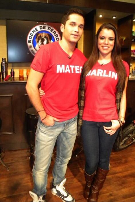 La mamá y el hermano de Marlin estuvieron con ella en todas las entrevis...