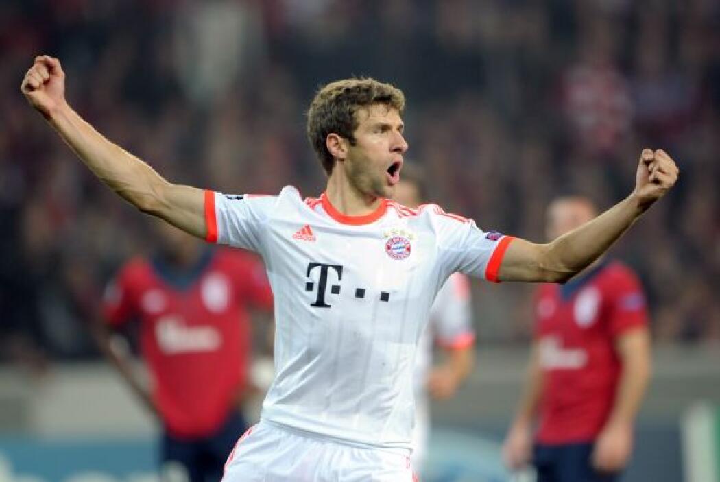 Bayern Munich no tuvo su partido más lucido, pero con un penalti marcado...