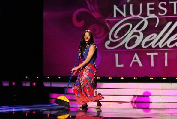 Alina Rodríguez audicionó en Nueva York y su talento fue actuar y bailar.