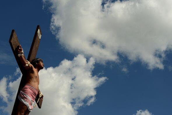 Entre los crucificados se encontraba Ruben Enage, un carpintero de 52 añ...