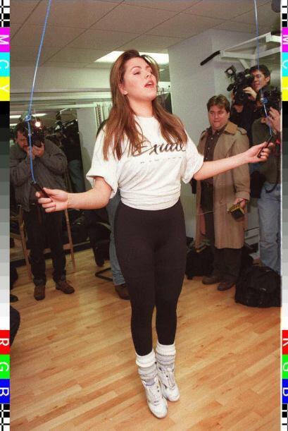 La Machado bajó el peso que aumentó gracias a dietas y ejercicio, pero f...
