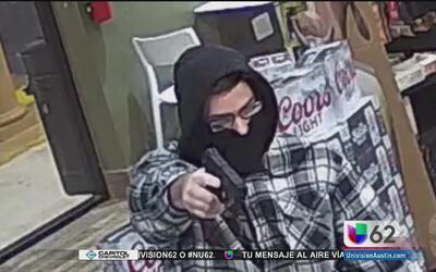 Policía de Austin busca a un ladrón en serie responsable de siete robos