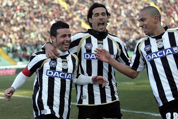 El cuadro de Udine sufrió pero al final sacó los tres punt...