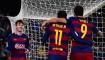 Neymar, Suárez y Messi hicieron los goles del Barcelona