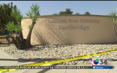 Alerta en universidad de Northridge por tiroteo