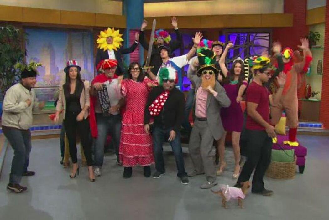 Así ''reventaron'' los presentadores al unirse al baile de Harlem Shake.