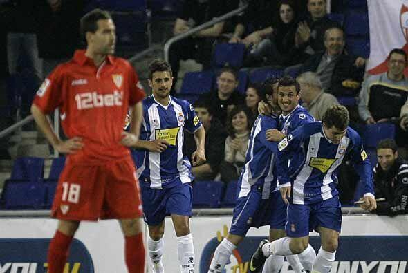 El Espanyol de Barcelona se aprovechó del Sevilla, que parece hab...