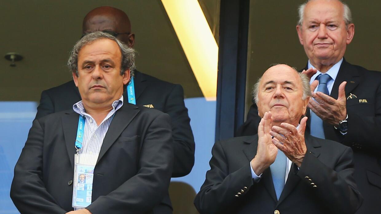 Platini y Blatter parece que ya no son tan amigos.