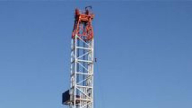 Pozos de perforación de gas se cuentan por decenas en todo el norte de T...