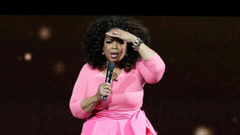 Oprah Winfrey en un evento en Sydney, Australia.