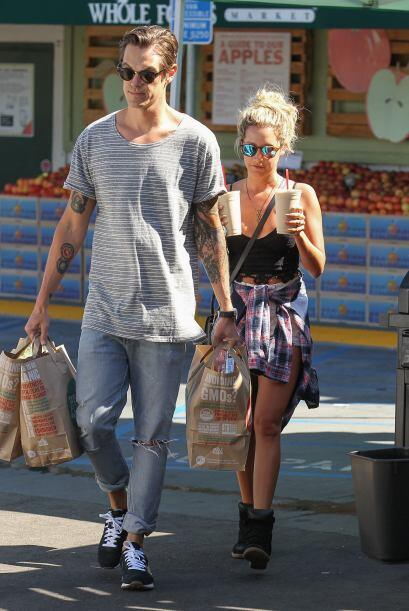 El matrimonio fue captado en  Whole Foods en Studio City, en California.