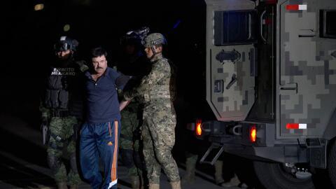 """El Chapo"" Guzmán, capturado por fuerzas militares de México"