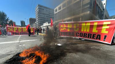 Manifestación en Quito