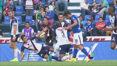 Cruz Azul vs Veracruz termina en empate 0-0
