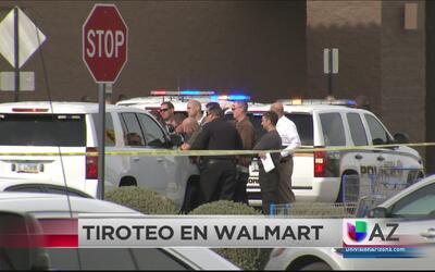 Tiroteo en tienda Walmart de Glandale