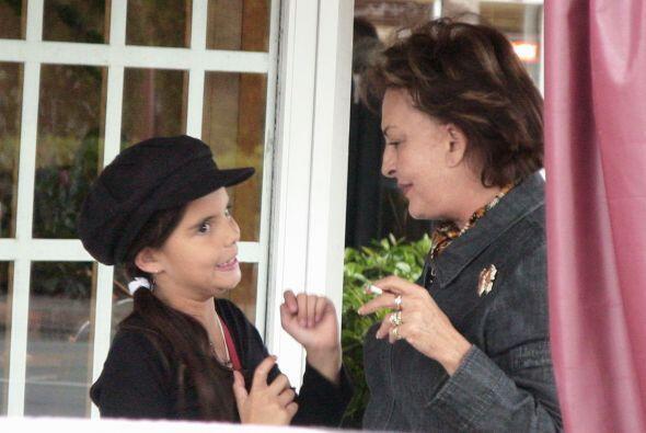 Desde entonces Talina se hizo cargo de su nieta María Levy, la re...