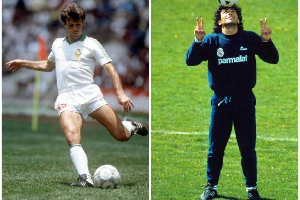 El 5 de octubre de 1986 el Osasuna de Javier Aguirre enfrentó al...