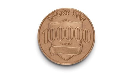 El 'centavo de la suerte' o Ally Lucky Penny.