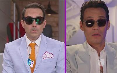 Carlos Calderón y Marc Anthony, ¿separados al nacer?