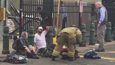 Un muerto y ciento catorce heridos en trágico accidente de tren en Nueva...