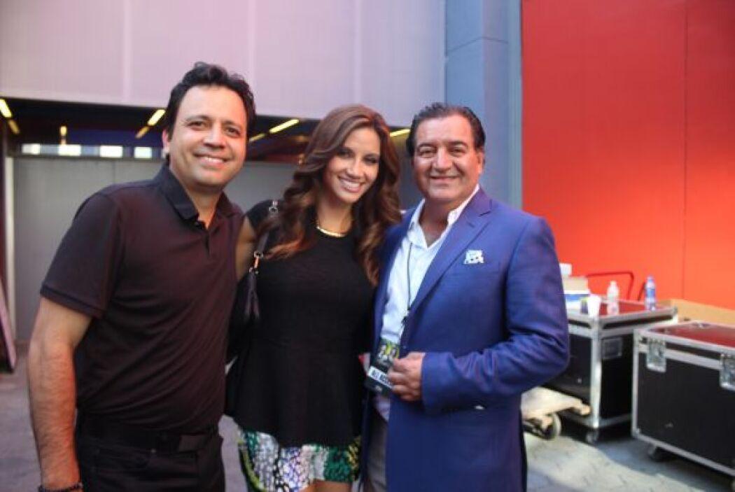 Charlando con el productor Salvador Mejia