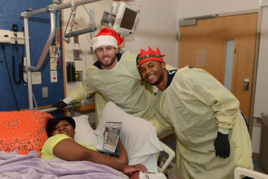 El pasado 23 de diciembre, ataviados con sus rojos gorros navideños, est...