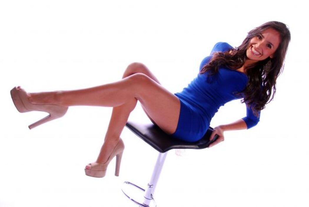 Representado a Colombia en está lista de bellezas hispanas residentes de...