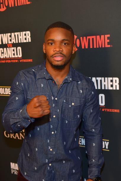 El boxeador Eddie Gómez.