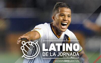 Giovani dos Santos vuelve a ser elegido Latino de la Jornada 8