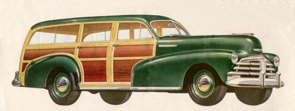 La  Chevrolet Fleetmaster 1948 fue una de las primeras station wagon nue...