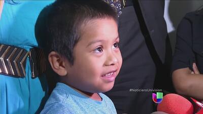 Menor de 4 años cruza la frontera en busca del sueño americano