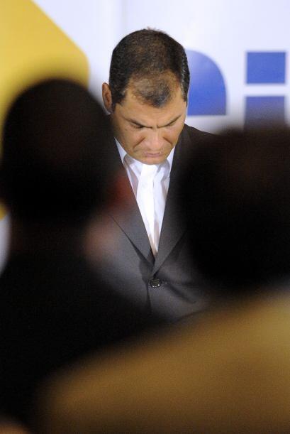Correa, que se define como un cristiano de izquierda y seguidor del soci...