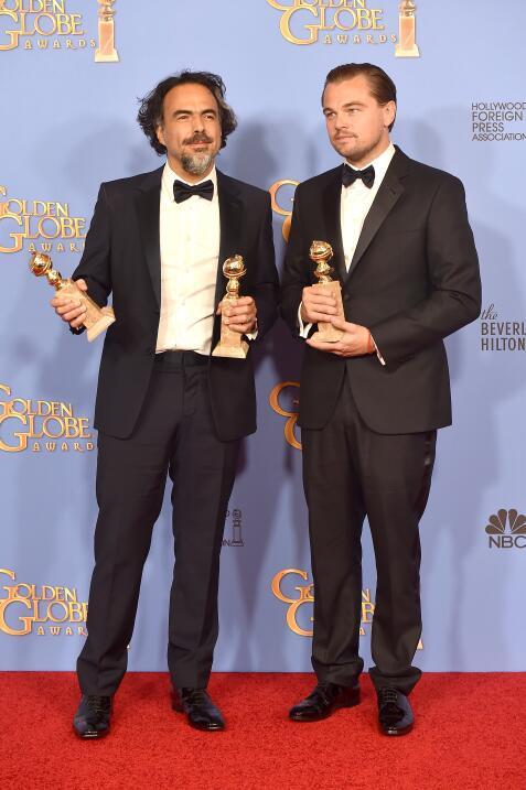 Alejandro González Iñárritu en los Globos de Oro