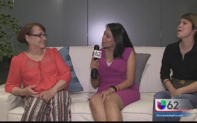 María de los Ángeles Juárez, la primera súper mamá de Univision 62