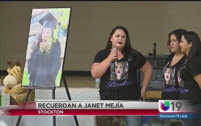 Vigilia para recordar a Janet Mejía