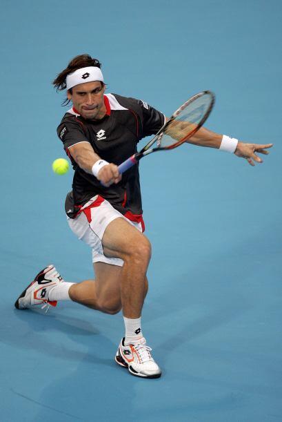 David Ferrer se impuso al sueco Robin Soderling, por 6-2 y 6-4.