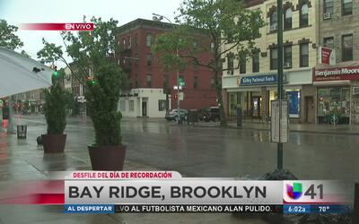 Mal clima amenaza desfiles del Día de la Recordación en Nueva York