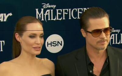 Brad Pitt fue atacado en plena alfombra mientras apoyaba a Angelina Jolie