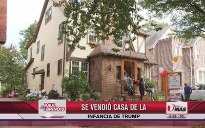 Se vendió la casa donde creció Donald Trump