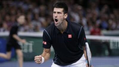 Djokovic se llevó su segundo Masters parís-Bercy al vencer en la final a...