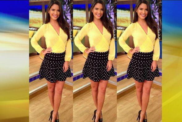 Septiembre 8, 2014: Una gran combinación, amarillo con negro.