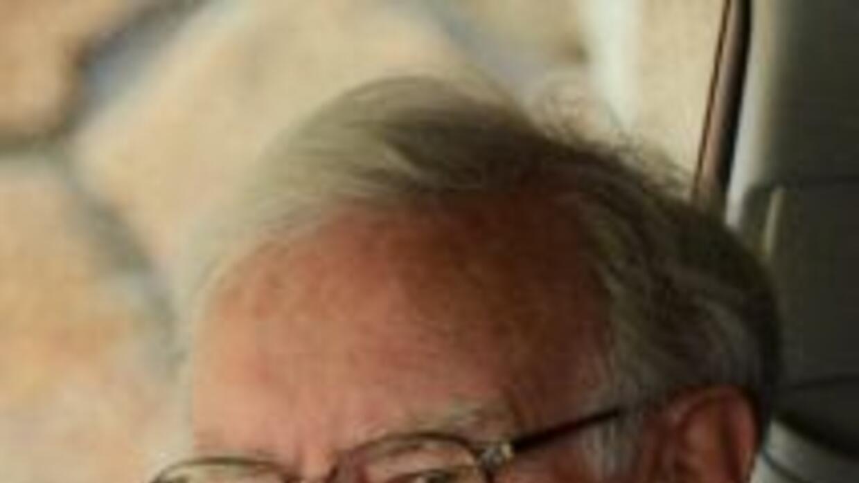 El magnate e inversor Warren Buffet.