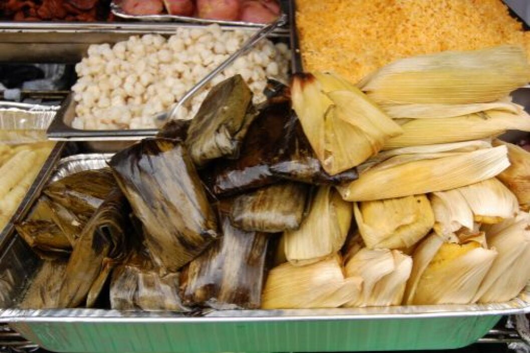 Las posadas son famosas porque se preparan platillos típicos mexicanos c...