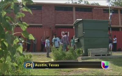 Un profesor en Texas transformó un contenedor en una casa