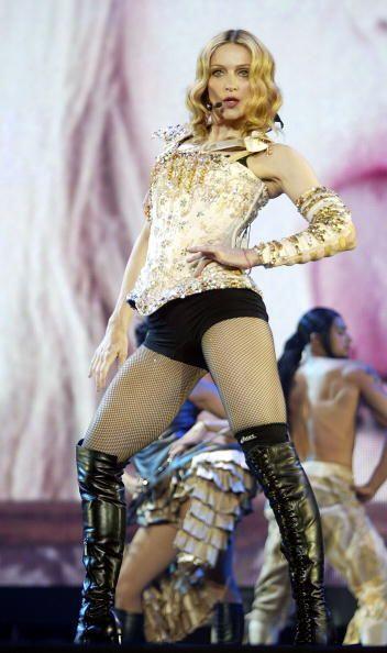 """La """"Reina del Pop"""" resultó ser como los buenos vinos, ¡entre más pasan l..."""