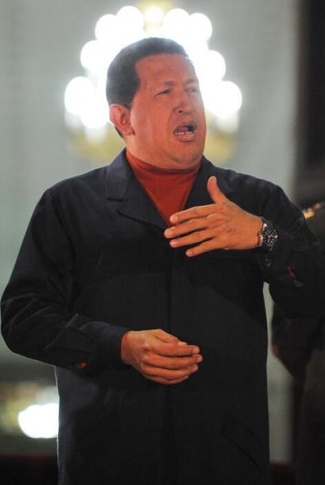 El presidente venezolano, Hugo Chávez, aseguró que será reelegido en el...