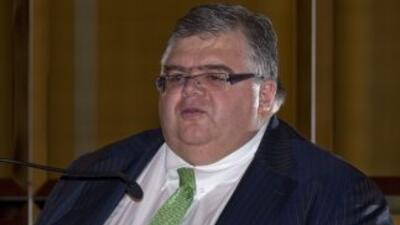 El gobernador del banco central mexicano, Agustín Carstens.
