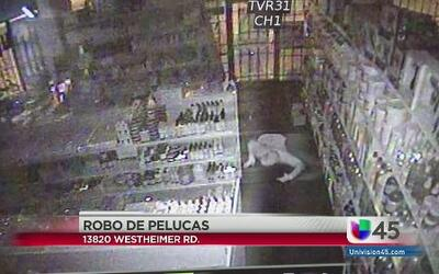 Ladrones vuelven a robar pelucas