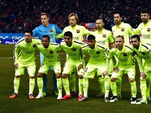 El Barcelona podría ser campeón este domingo cuando juegue...