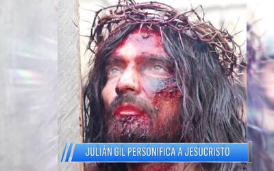 Julián Gil confesó lo difícil que ha sido personificar a Jesucristo